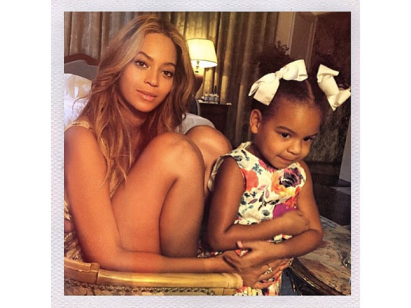 Mood of the day: Queen B and Blue Ivy Carter