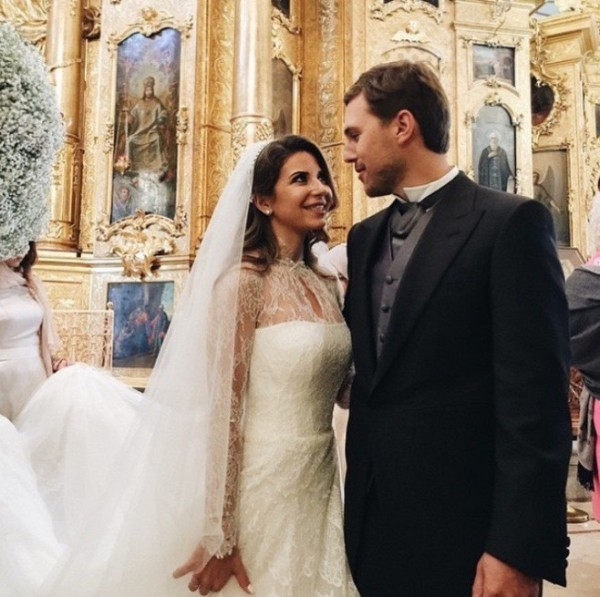 Эксклюзив HELLO!: свадьба и венчание Галины Юдашкиной и 34