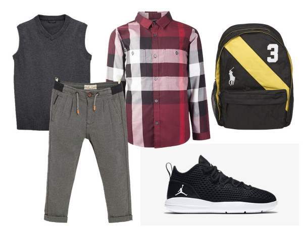 Look of the week: back to school